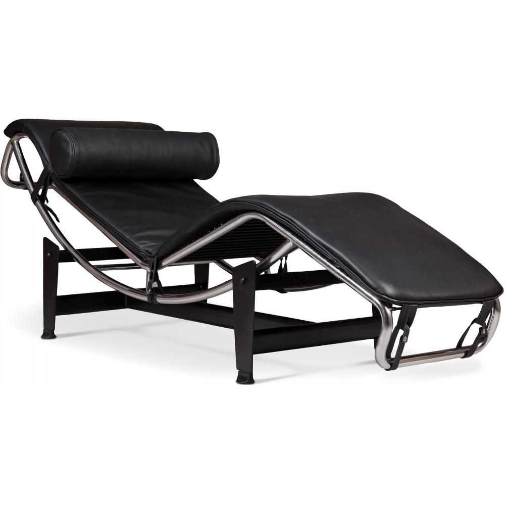 Lc4 sedia reclinabile charles le corbusier - Sedia le corbusier ...