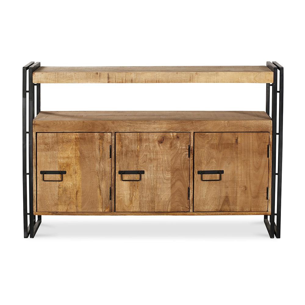 Credenza industriale in legno tunk for Credenza industriale