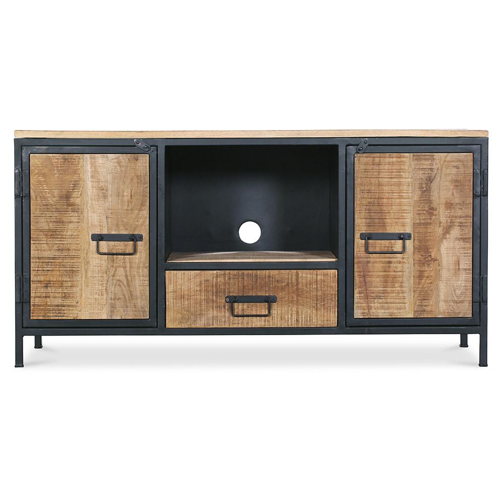 Mobile tv di metallo onawa in stile industriale vintage - Mobile tv vintage ...