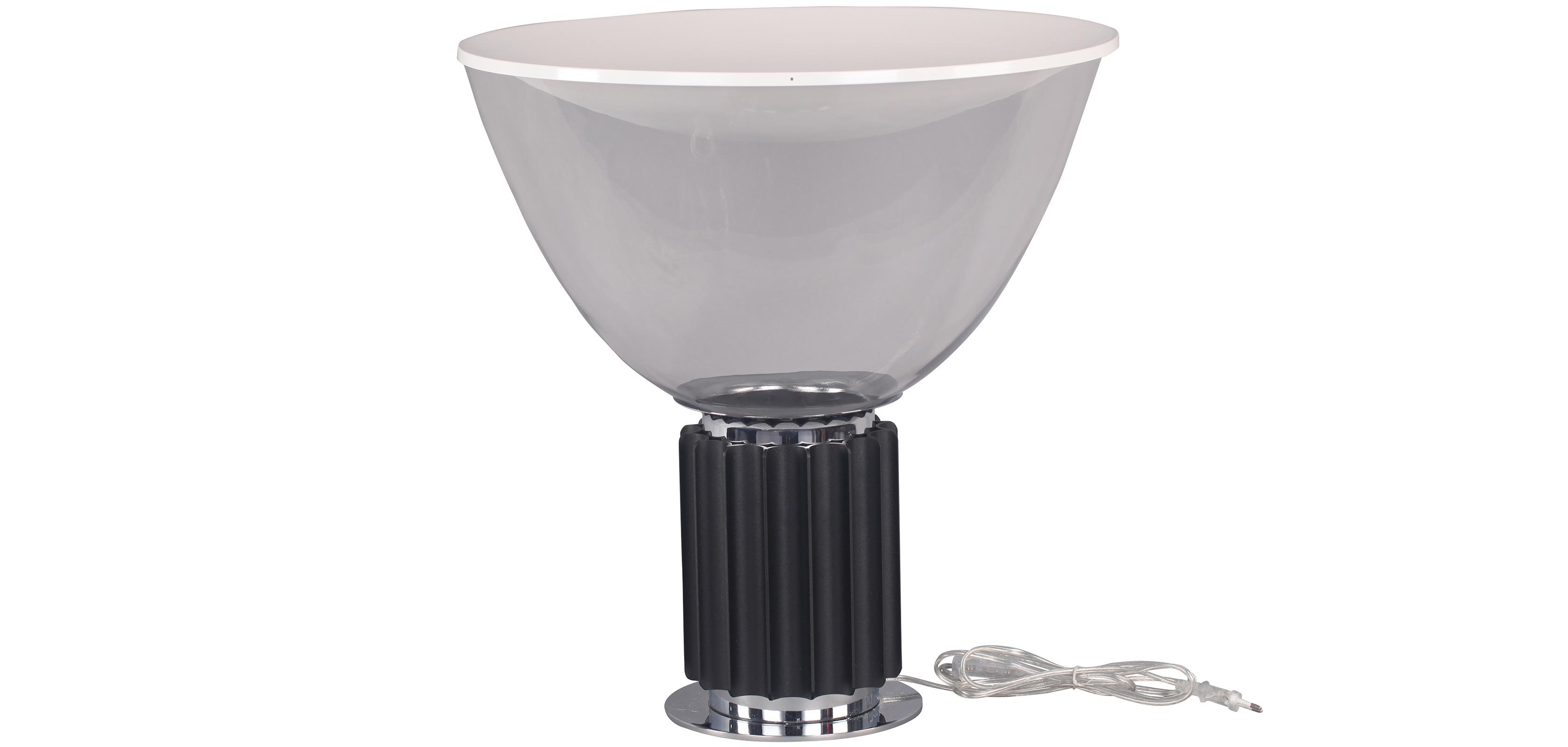 lampada taccia achille castiglioni vetro