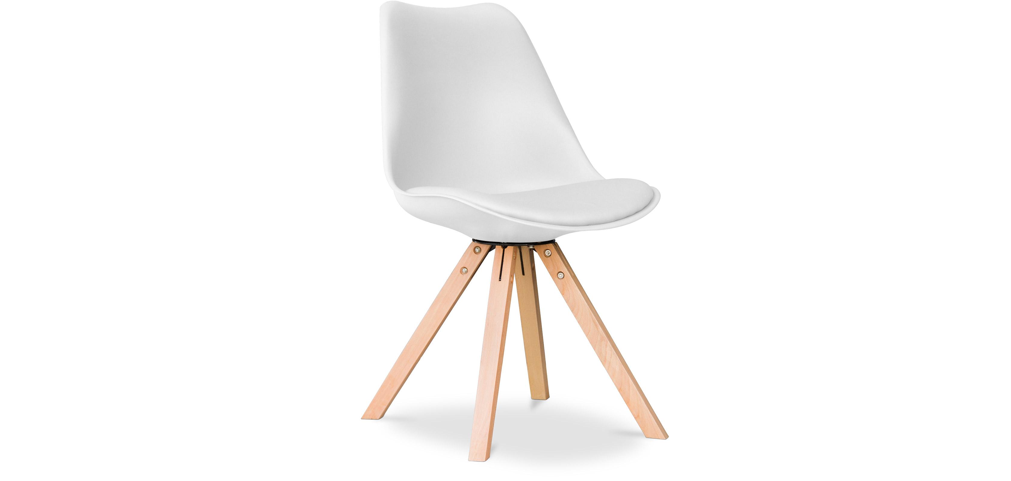 Sedia 4 gambe design scandinavo dsw charles eames style for Sedie design eames