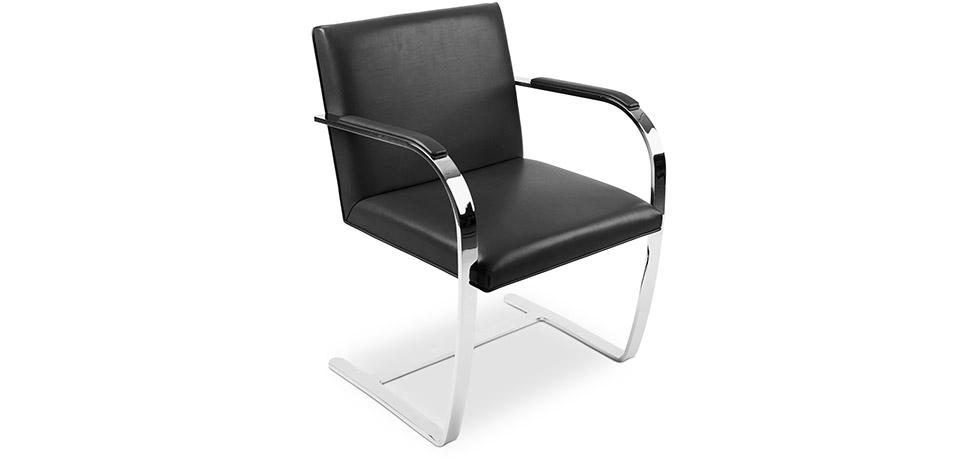 Sedia da ufficio design bruno pelle premium for Sedie ufficio design