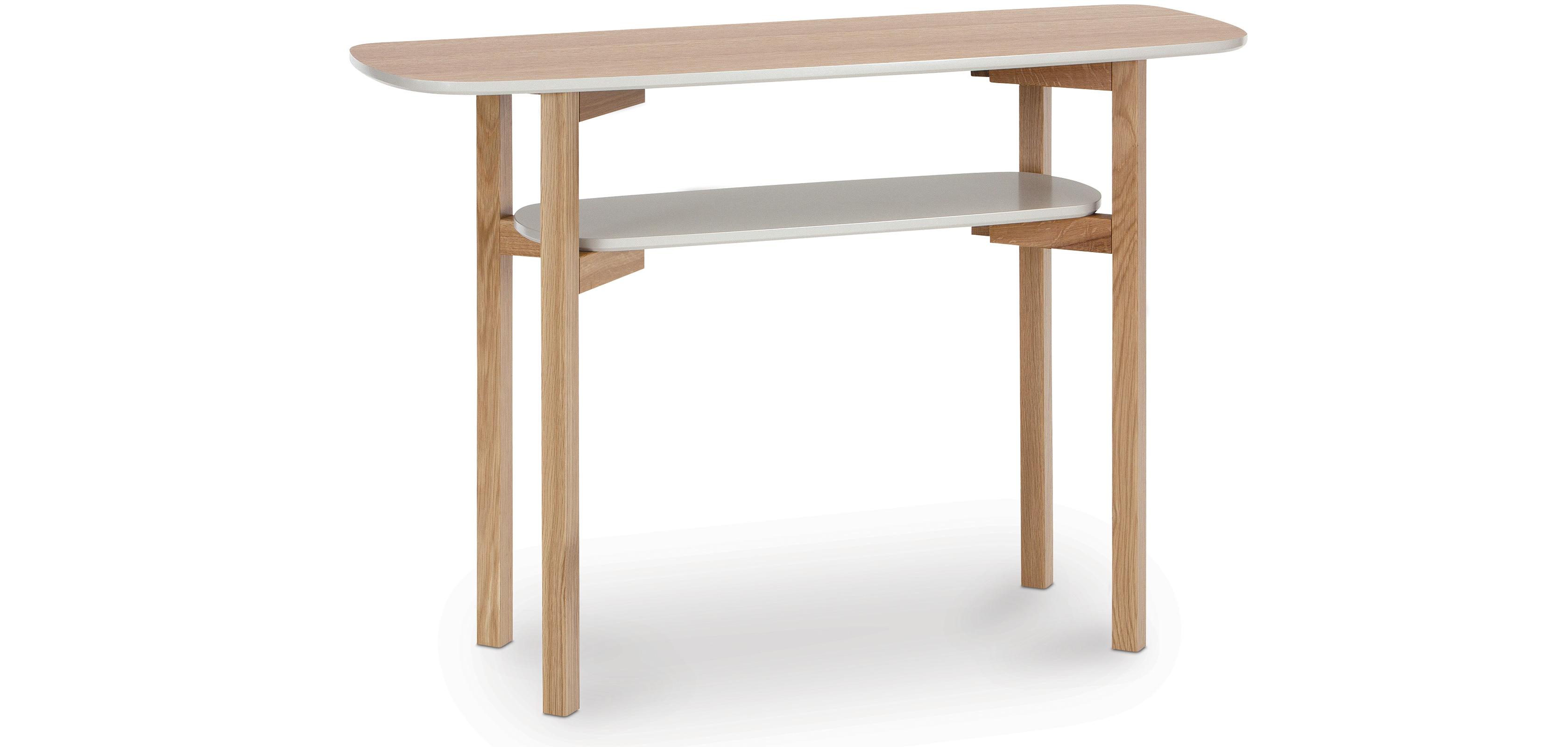 Tavolo console in legno di stile scandinavo - Tavolo stile scandinavo ...